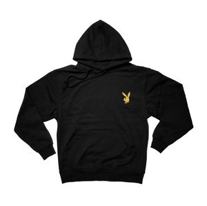 Playboy bunny (Gold metallic) Pullover Hoodie